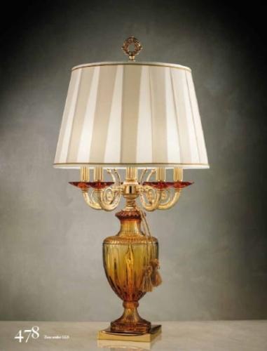 Włoskie Stylizowane Lampy Stołowe Kolekcja Eluce Zeus