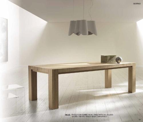 Włoskie Nowoczesne Stoły Rozkładane Z Litego Drewna Metamorfosi Moderna 1 6