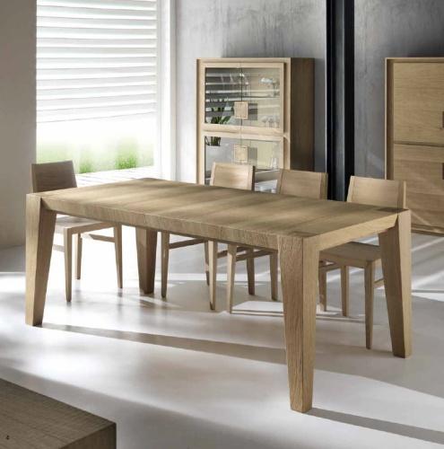 Włoskie Nowoczesne Stoły Rozkładane Z Litego Drewna Metamorfosi Moderna 7 12