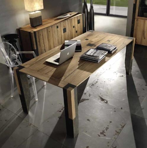 Włoskie Nowoczesne Stoły Rozkładane Z Litego Drewna Metamorfosi Moderna M120 131