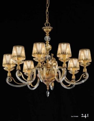 Włoskie ekskluzywne stylizowane lampy Eluce - kolekcja Lyra