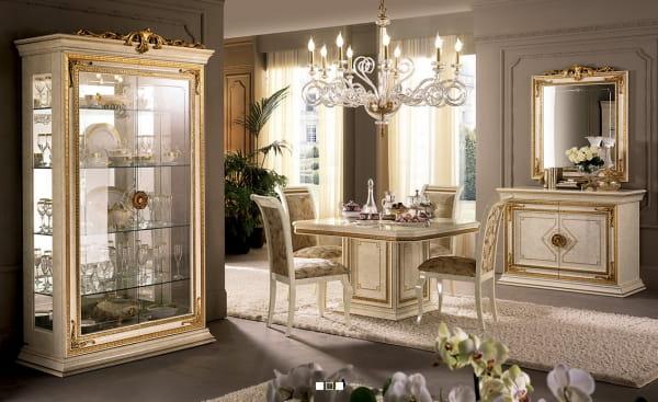 Włoskie Meble Do Jadalni Kolekcja Leonardo Stoły Krzesła